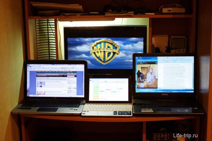 Рабочее место блоггера.