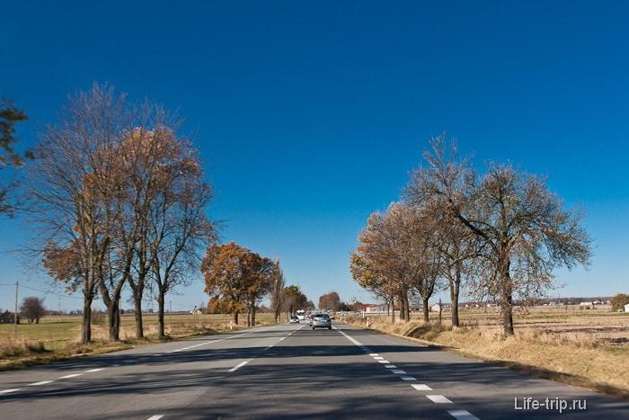 Дорога в Польше везде отменная