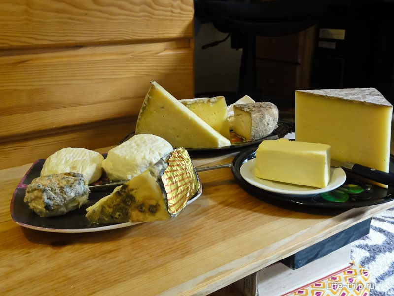 За разнообразие французких сыров можно душу продать.