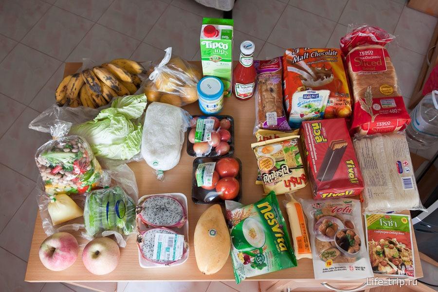 Первые продукты в Чиангмае