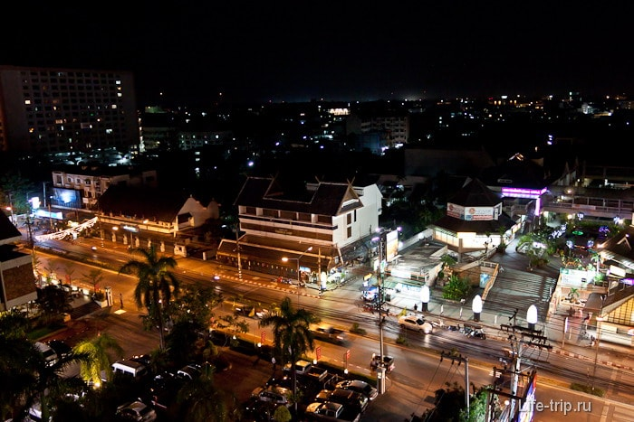 Наш район с крыши торгового центра