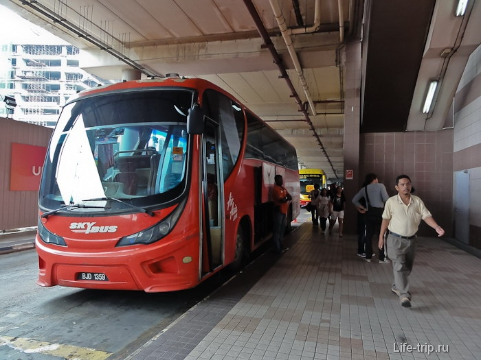 Skybus у KL Sentral