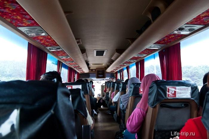 Skybus внутри