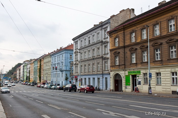 Прага, но как похоже на Москву