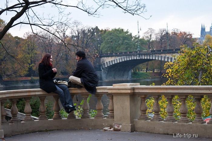 Прага - романтичный город