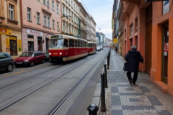 В Праге бегают наши..., ой - их трамвайчики