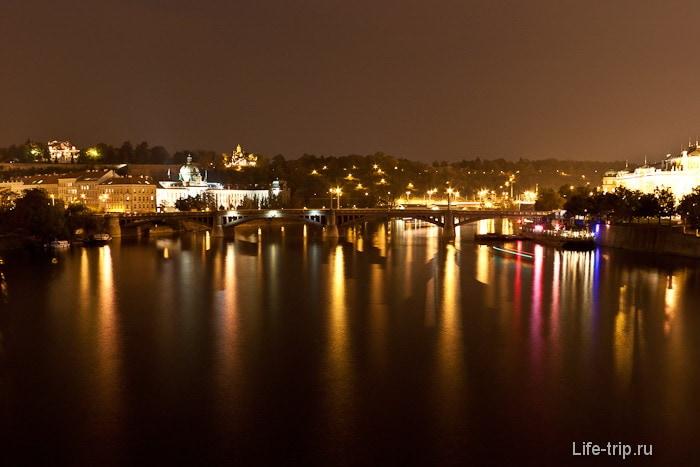 Необыкновенная подсветка старой Праги