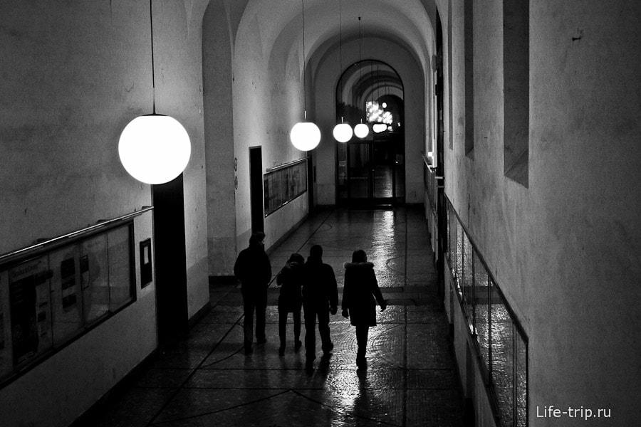 Экскурсия по ночном университету Мюнхена
