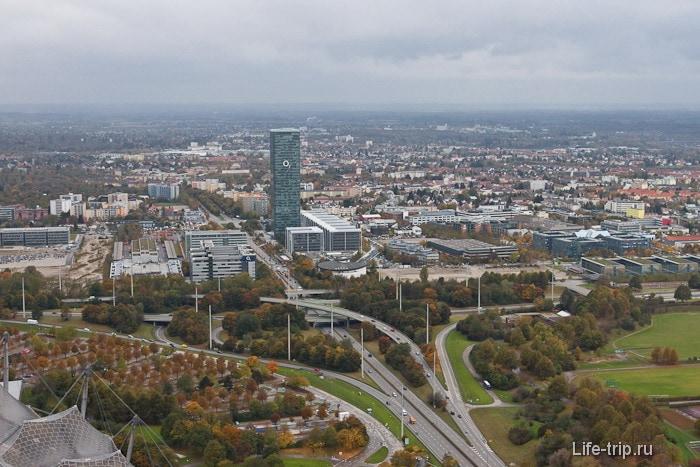 Современный город Мюнхен