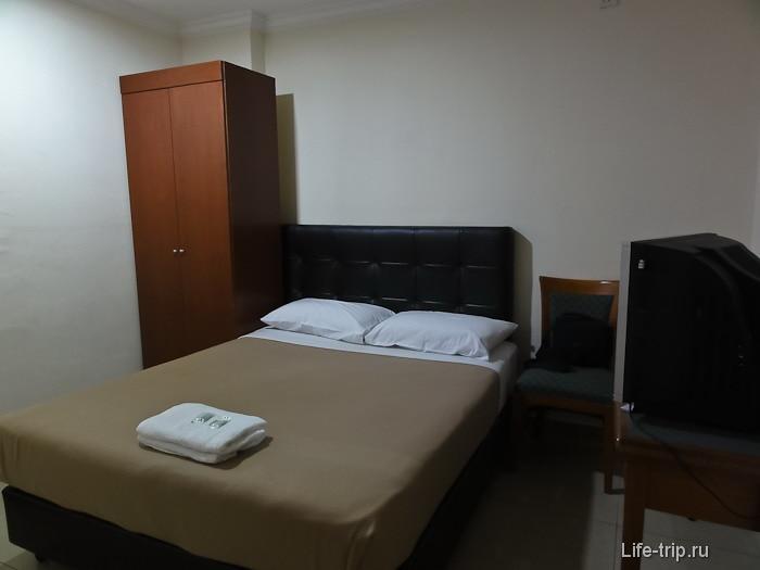 Наш номер в City Hotel в Чайнатауне