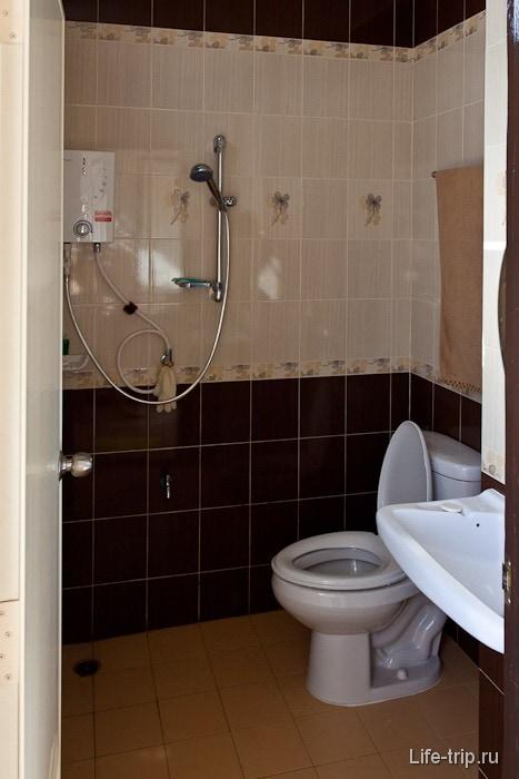 Стандартная тайская ванная