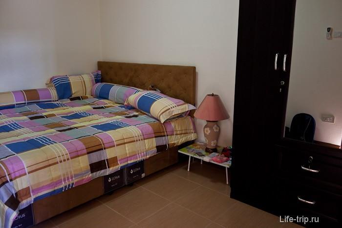 Наша спальня - кровать на четверых расчитана