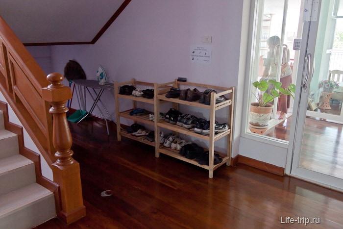 Выставка обуви в нашем кондоминиуме