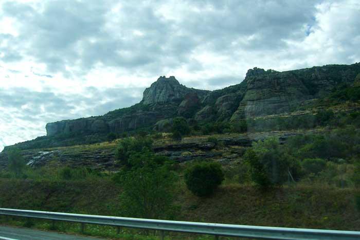 Горы вокруг Канн