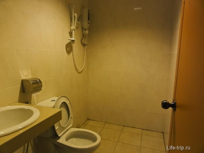 Типичный душ