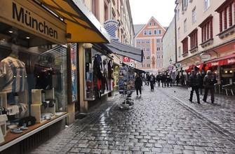 Улочки в центре Мюнхена