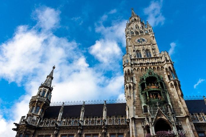 Новая ратуша в Мюнхене - Neues Rathaus