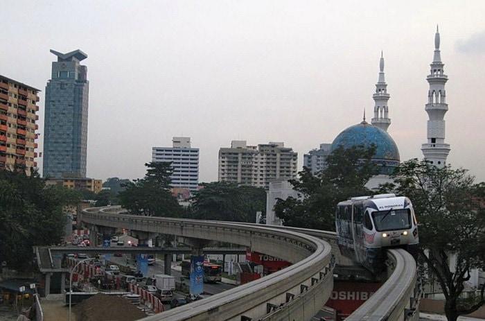 Монорельс в Куала Лумпур
