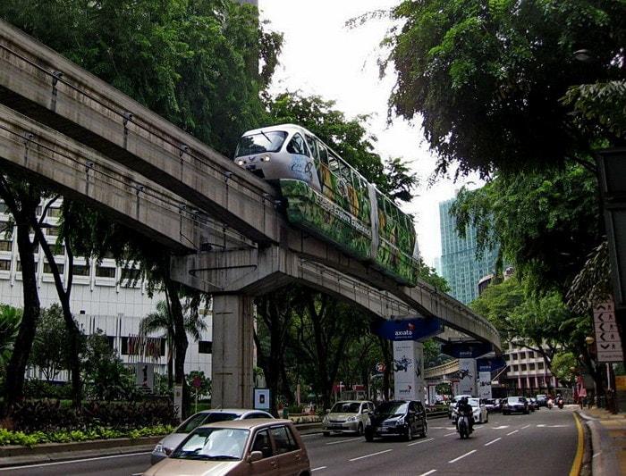 Монорельсовое метро в Куала Лумпур