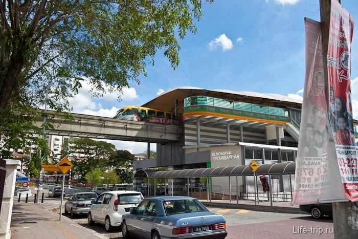 метро Куала Лумпур, поезд KL Monorail