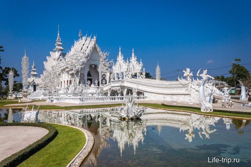 Белый храм в Таиланде (Wat Rong Khung)