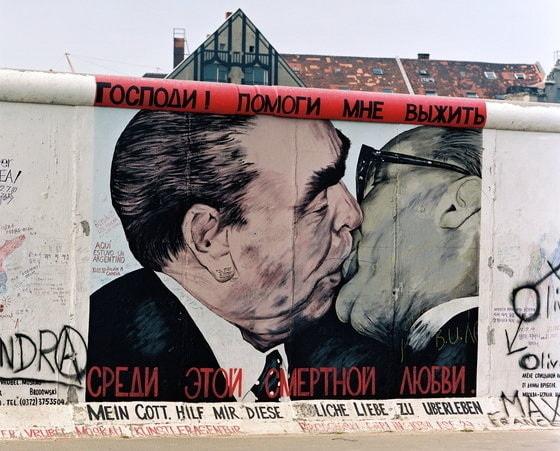 Поцелуй Хонеккера и Брежнева