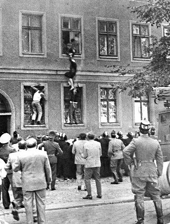 Побег 77-летней жительницы Восточного Берлина