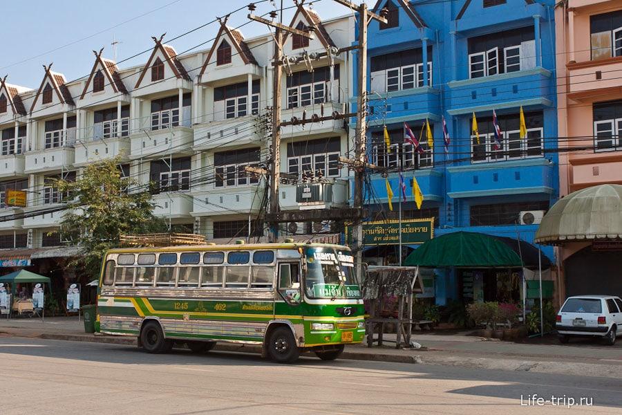 Автовокзал в Чианг Саен