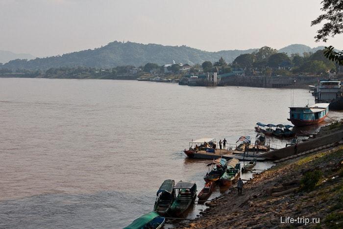 Река Меконг в Чианг Саен
