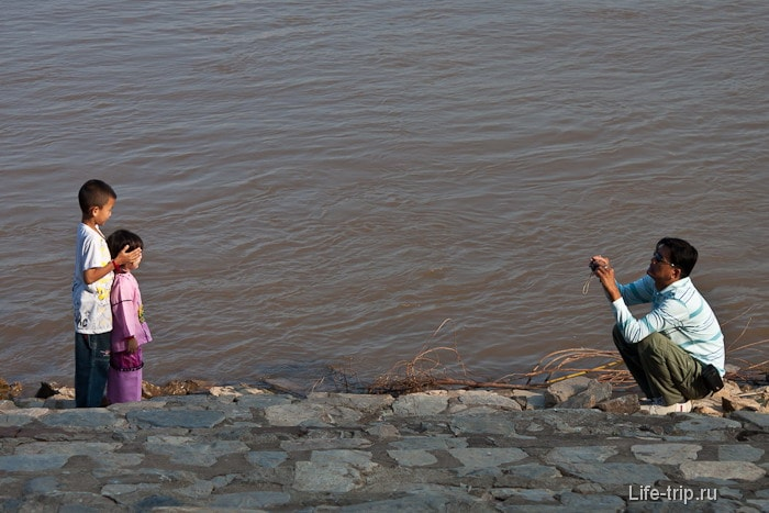 Местные жители Чианг Саен