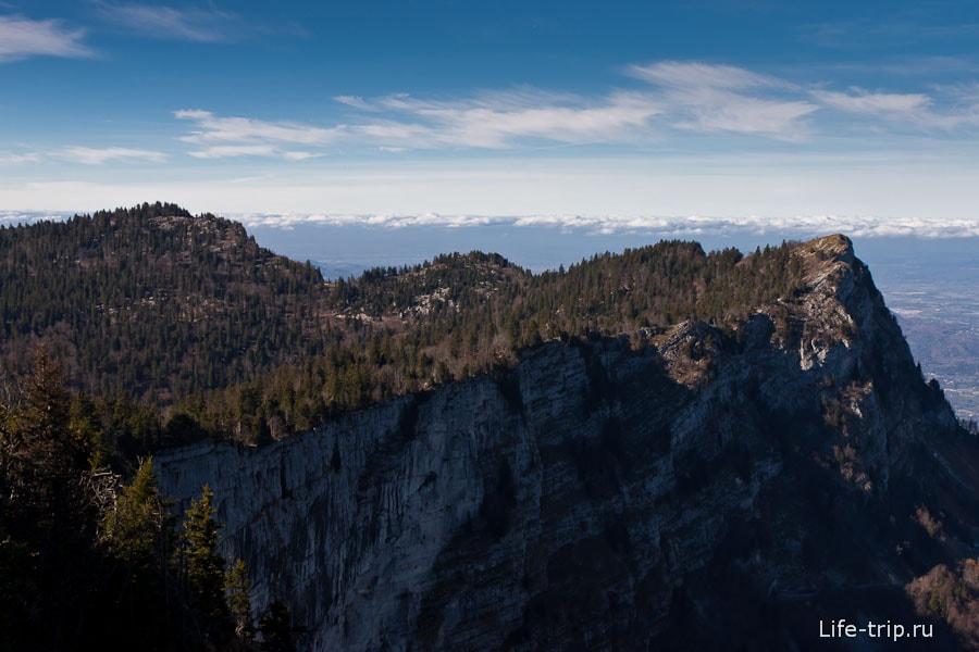 Отвесные скалы Гренобля
