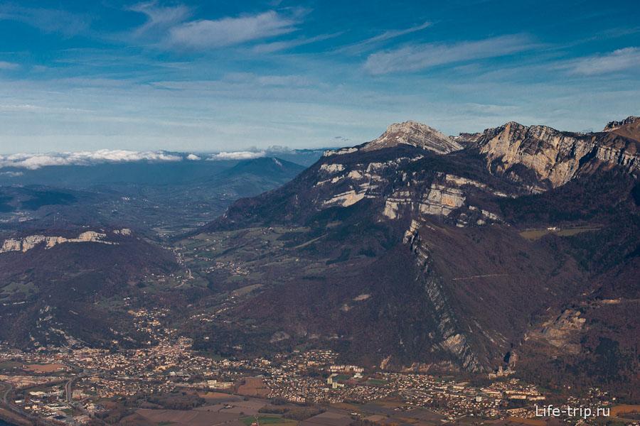 Французские Альпы Гренобля