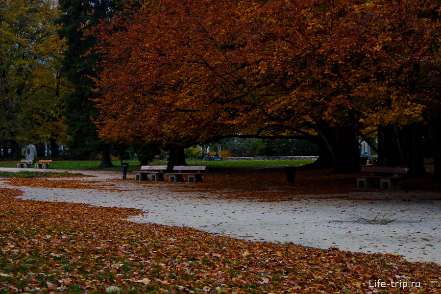 Парк в Гренобле