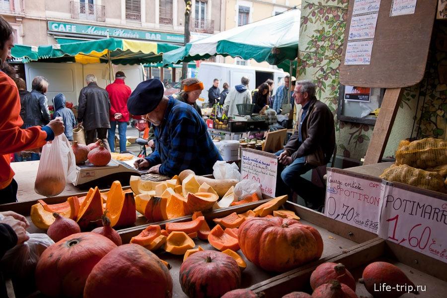 Рынок в Гренобле