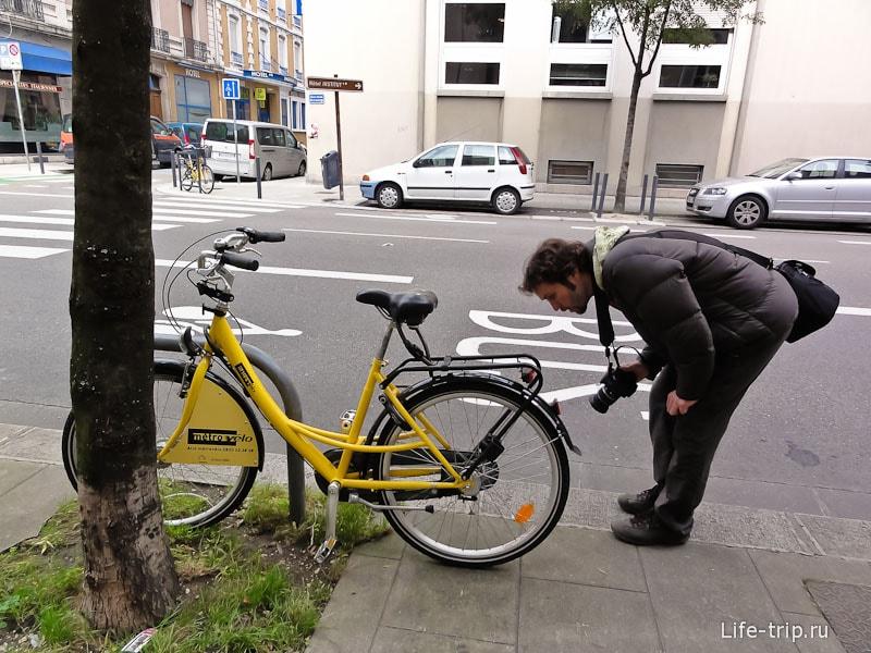 Велосипед на прокат в Гренобле