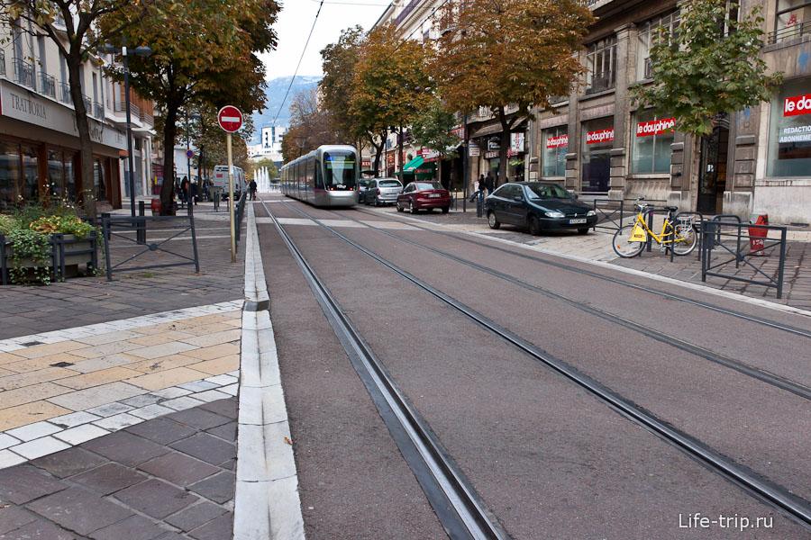 Трамвай Гренобля