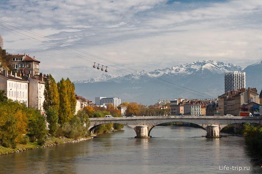 Телеферик Гренобля и Французские Альпы