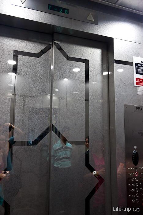 На лифте в небо