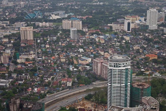 Куала Лумпур с высоты