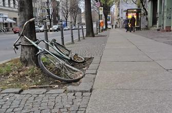 Старые велосипеды в Германии