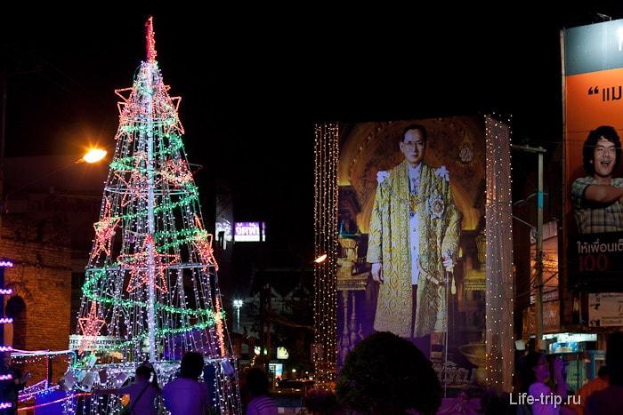 То, что вечером превращается в елку в Новый год в Таиланде