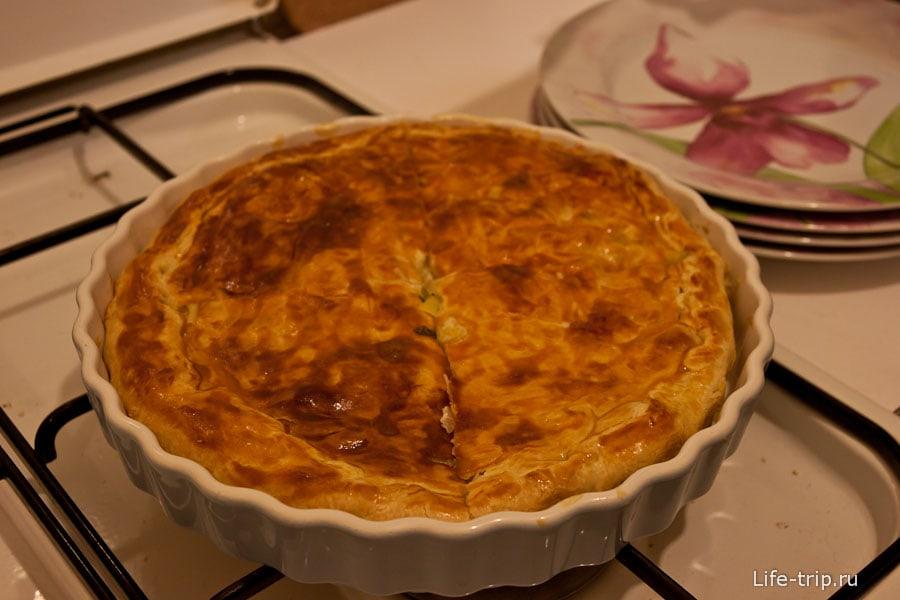 Одно из вкуснейших блюд, которое мы попробовали во Франции