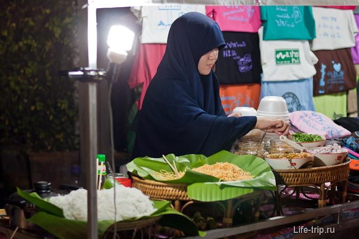 Мусульманская еда в Пай