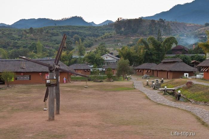 Китайская деревня Chinise Village