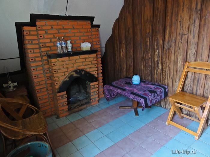 Деревянный домик за 400 бат