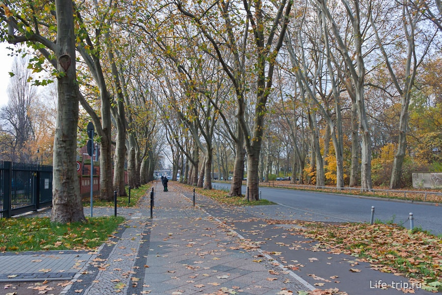 Велодорожки в Берлине