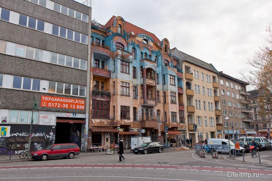 Интересное здание в восточном Берлине