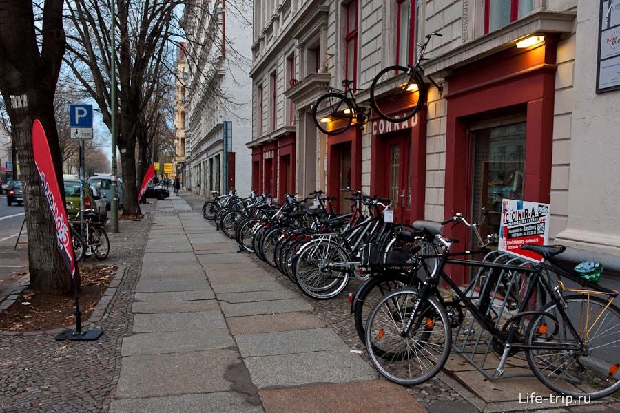 Велосипеды везде и всюду