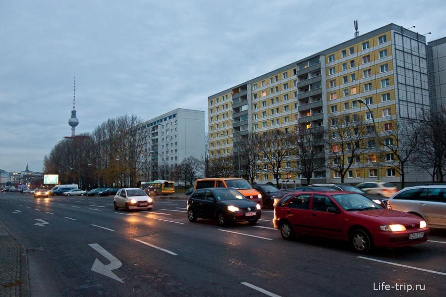 Советские дома в Берлине