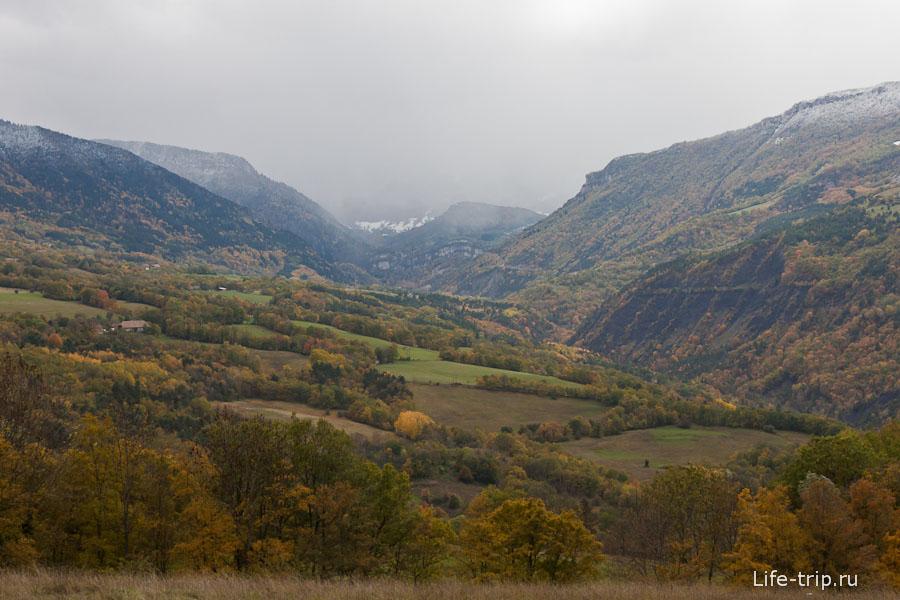 Дороги Франции - горные пейзажи